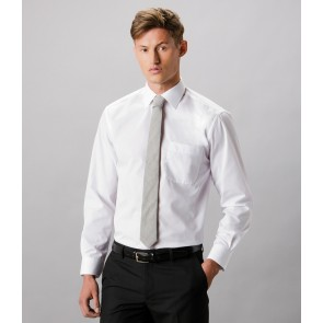 Kustom Kit Long Sleeve Classic Fit Business Shirt
