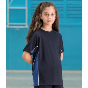 Finden & Hales Kids Performance Panel T-Shirt